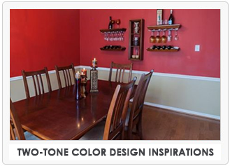 Two-Tone Color Design Inspirations
