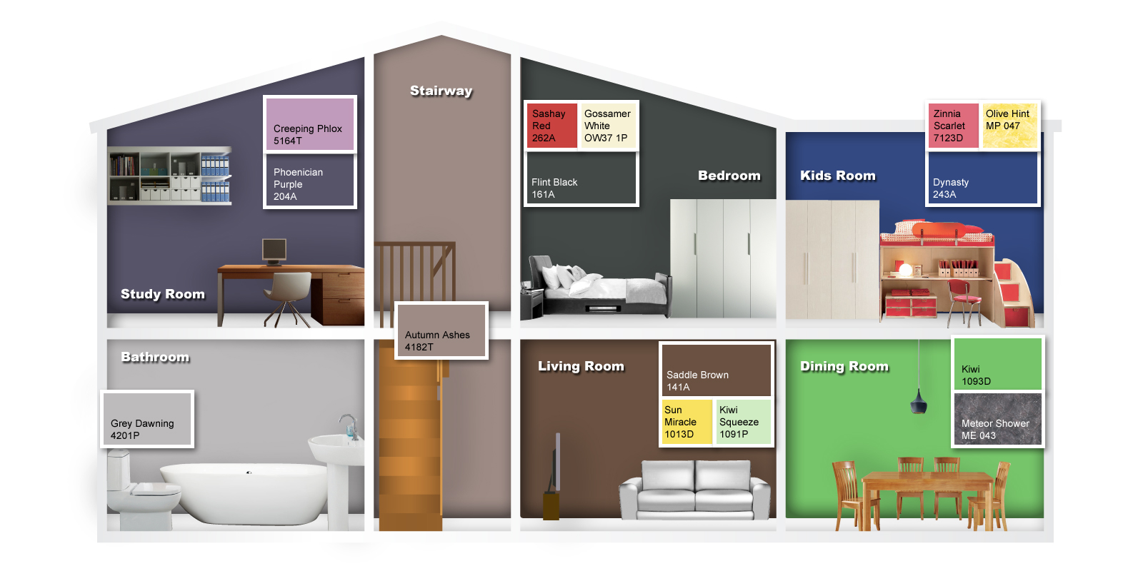 Nippon paint indonesia the coatings expert midnight glow for Nippon paint colour for living room